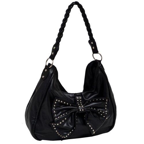 Hana Faux Leather Large Hobo Bag