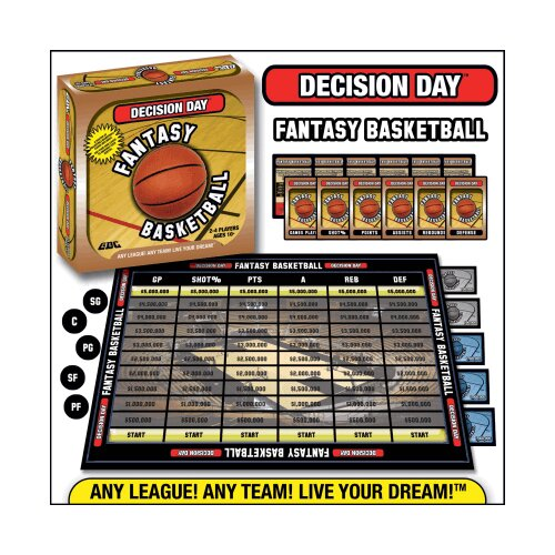 GDC-GameDevCo Ltd. Decision Day Fantasy Basketball Trading Card Board Game