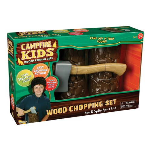 Insect Lore Campfire Kids Wood Chopping Set
