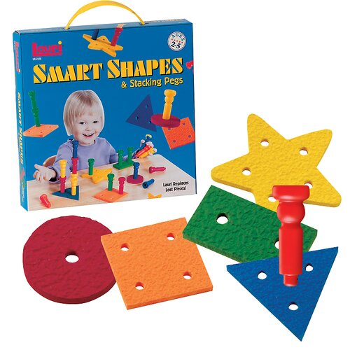 Smart Shapes and Stacking Pegs