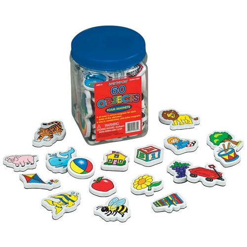 Patch Products Objects Foam Magnet Set