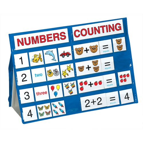 Numbers and Counting Tabletop Pocket Chart