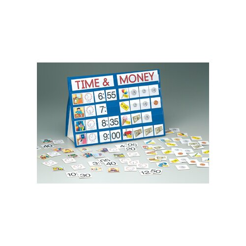 Patch Products Time & Money Top Pocket Chart