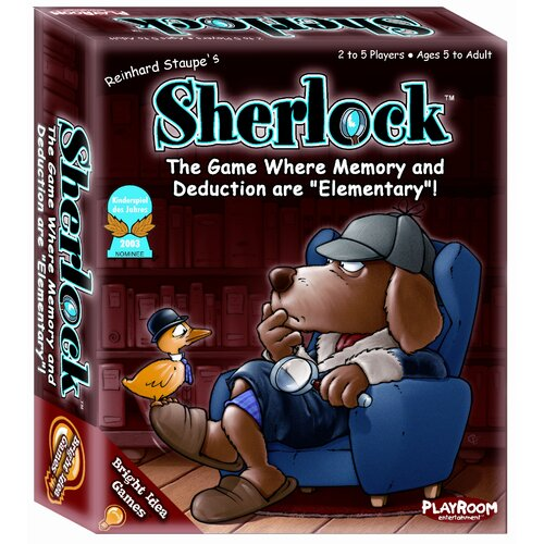 Playroom Entertainment Bright Idea Sherlock Games
