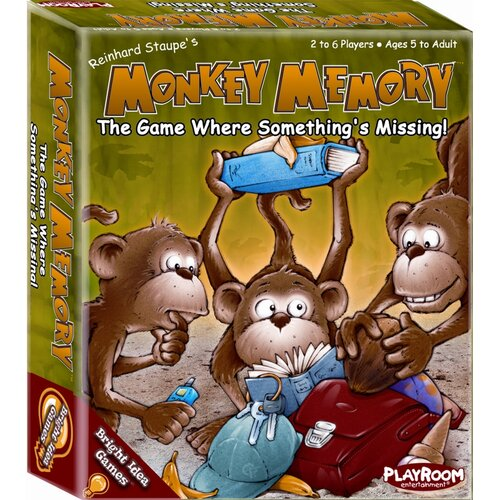 Bright Idea Monkey Memory Games