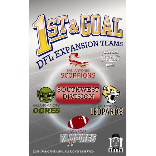 1st & Goal: Southwest Division Board Game