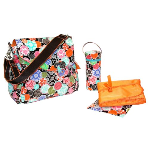 Kalencom New Flap Messenger Diaper Bag