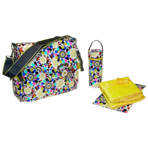 Kalencom Ozz Coated Diaper Bag Set