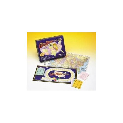Family Games Geo / Derby USA Board Game