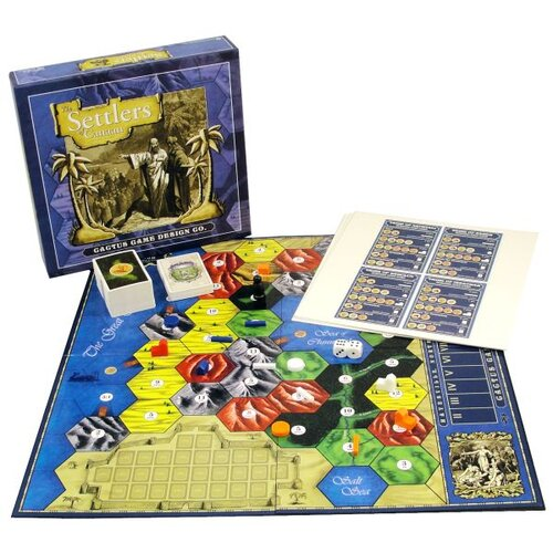Settlers of Canaan Game