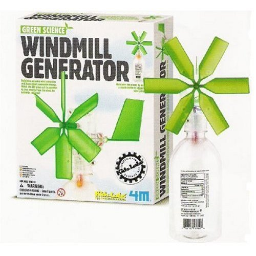 Toysmith Green Science-Windmill Generator