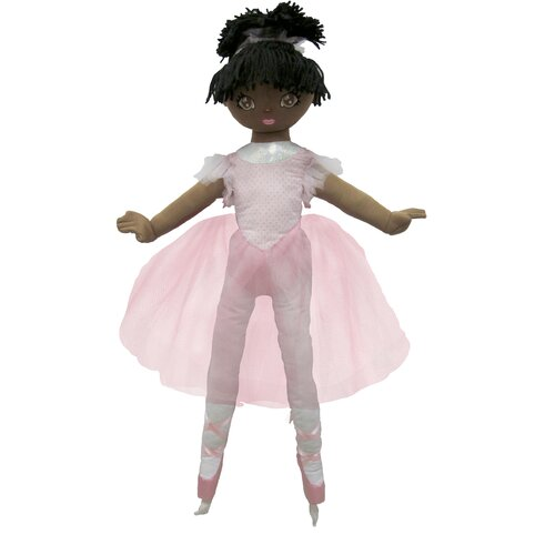 Well Made Toys La Bella African American Ballerina Doll