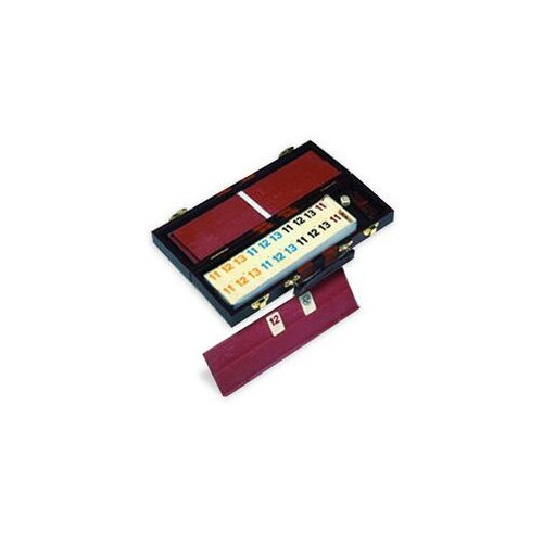 Rummy Set Leatherette Case Game