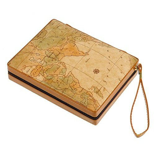 Wood Expressions Backgammon Map Case Game