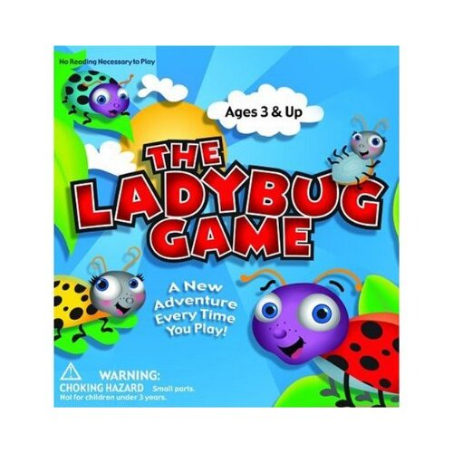 Zobmondo Lady Bug Board Game