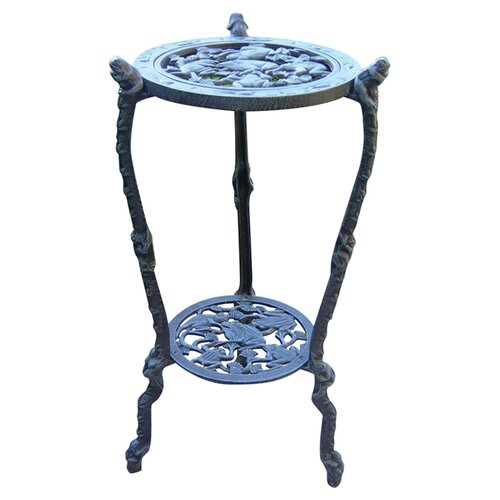Oakland Living Frog Table Round Stand Planter