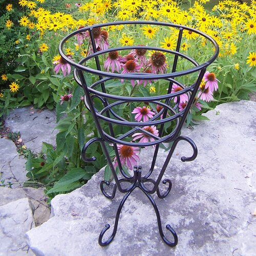 Gold Cup Round Stand Planter