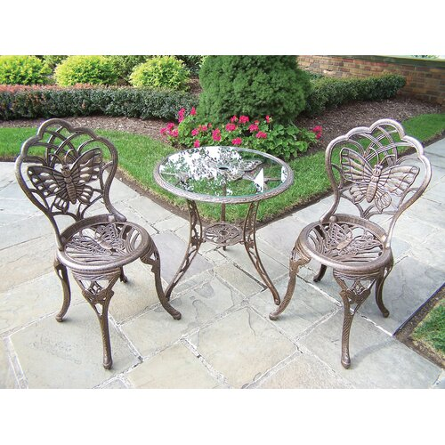 Butterfly 3 Piece Bistro Set