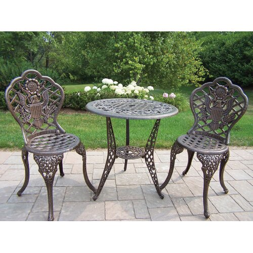 American Eagle 3 Piece Bistro Set