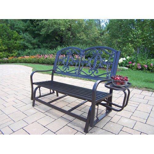 Oakland Living Lakeville Iron Garden Bench