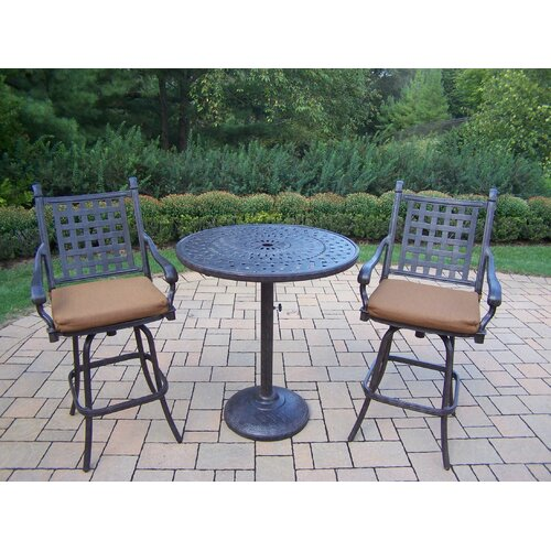 Oakland Living Belmont Bar Set with Cushions