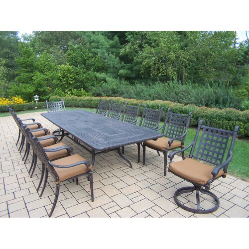 Oakland Living Belmont Expandable Dining Set with Cushions