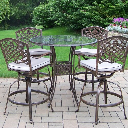 Oakland Living Hummingbird Mississippi Swivel Bar Set