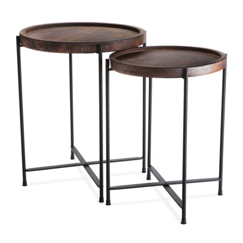 Morris 2 Piece Nesting Table
