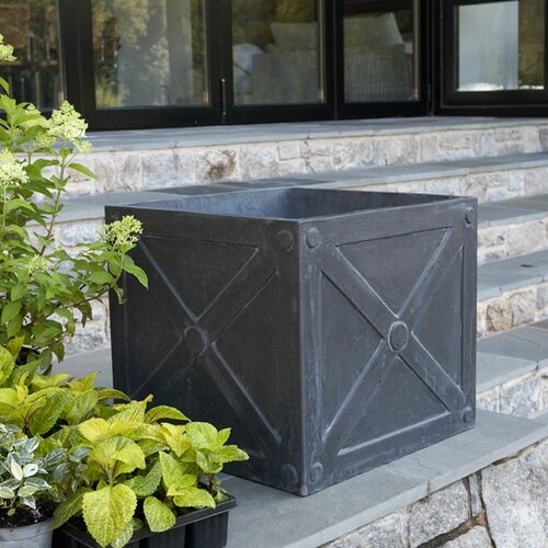 X cube square planter box wayfair for Wayfair garden box