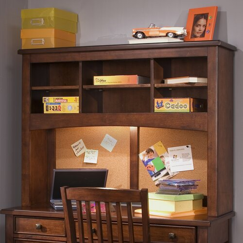 liberty furniture chelsea square bedroom student desk hutch reviews wayfair. Black Bedroom Furniture Sets. Home Design Ideas