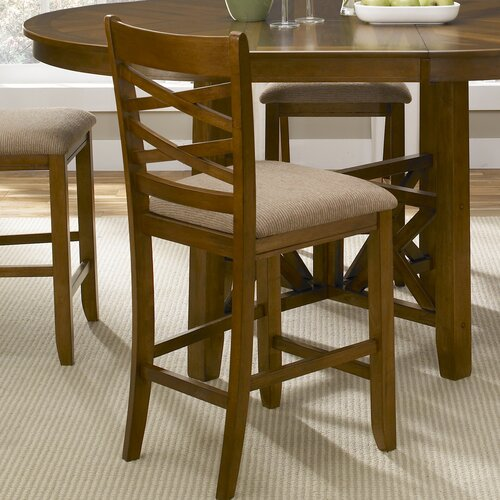 Bistro Bar Stool with Cushion