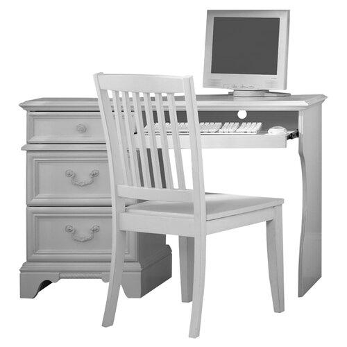 Student Computer Desk Techni Mobili Wood Student Blue