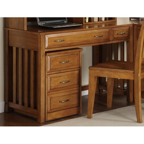 Liberty Furniture Hampton Bay Writing Desk in Oak