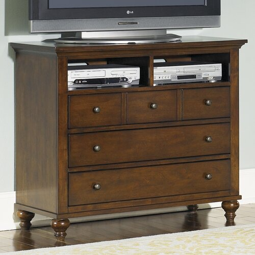 Hamilton 5 Drawer Media Chest