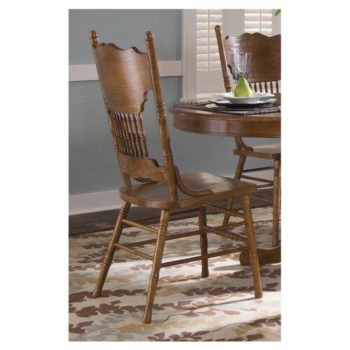 Liberty Furniture Nostalgia Double Press Back Side Chair