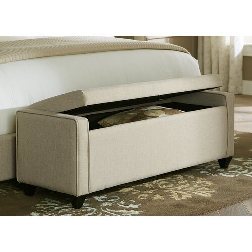ORE Upholstered Storage Bench & Reviews