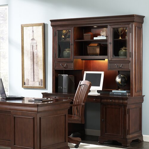 Liberty Furniture Junior Executive Credenza Hutch