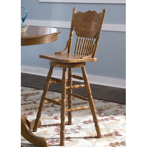 "Liberty Furniture Nostalgia Casual Dining 30"" Bar Stool"