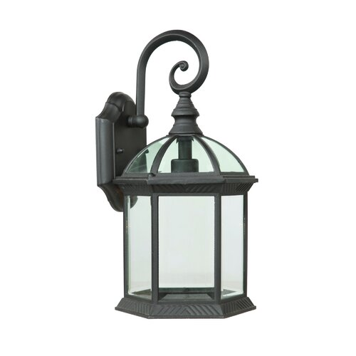 Outdoor Wall Light Decor : Yosemite Home Decor Anita 1 Light Outdoor Wall Lantern & Reviews Wayfair