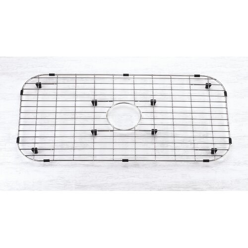 """Yosemite Home Decor 28"""" x 14"""" Sink Grid with Rubber Feet"""