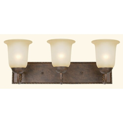 Yosemite Home Decor McKensi 3 Light Vanity Light