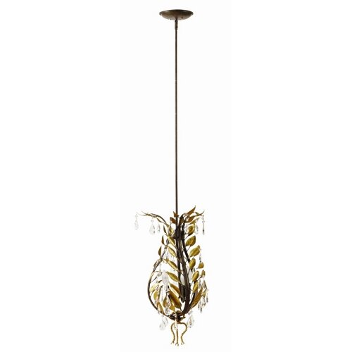 Yosemite Home Decor New Plantation 3 Light Mini Pendant