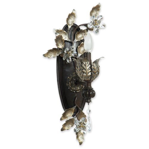 Yosemite Home Decor Splendido 1 Light Wall Sconce