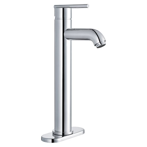 Single Handle Lavatory Faucet with Single Hole Installation