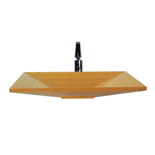 Yosemite Home Decor Euro Bamboo Vessel Bathroom Sink