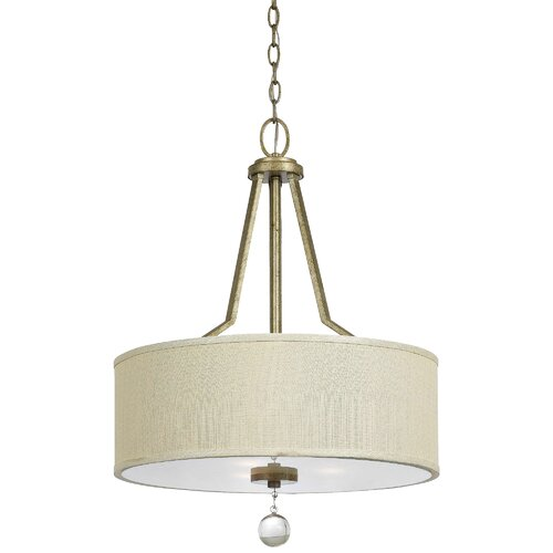 Yosemite Home Decor Lewisia 3 Light Foyer Pendant