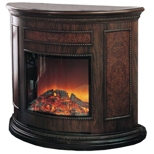 yosemite home decor wooden electric fireplace reviews wayfair. Black Bedroom Furniture Sets. Home Design Ideas