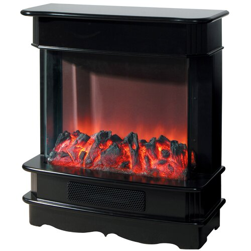 Open Electric Fireplace