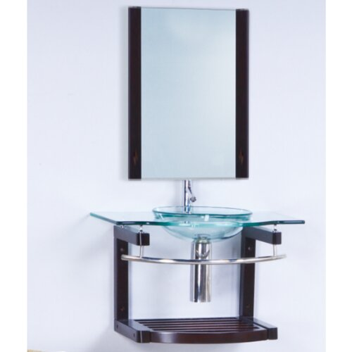"Yosemite Home Decor Transitional 32"" Bathroom Vanity Set with Single Sink"