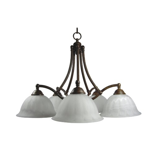 Spice 5 Light Chandelier